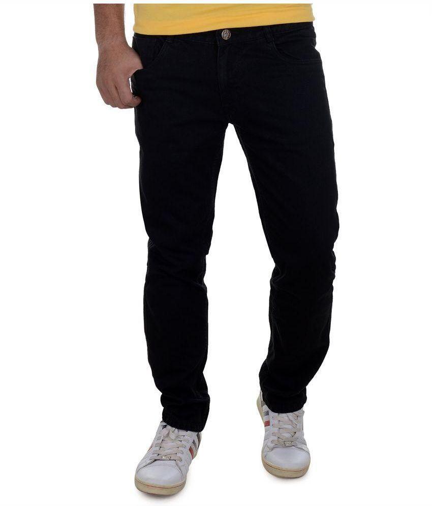 Benmartin Black Regular Fit Jeans
