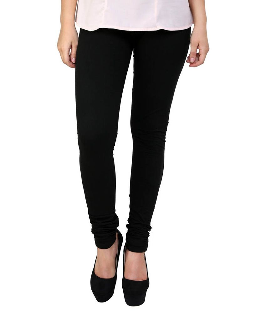 11224268b Ffu Black Cotton Leggings Price in India - Buy Ffu Black Cotton Leggings  Online at Snapdeal