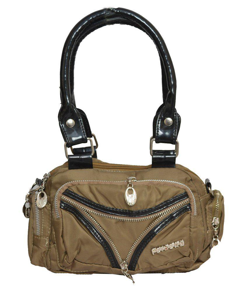 Rehan's Beige Non Leather Shoulder Bag