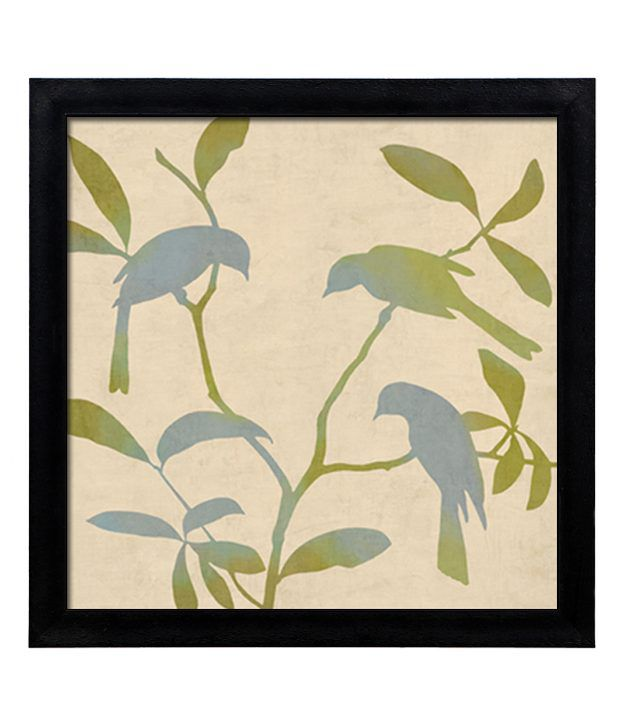 Elegant Arts And Frames Textured Birdsong Painting