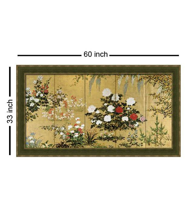 Elegant Arts And Frames Textured Garden Painting
