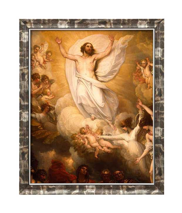 Elegant Arts And Frames Textured Jesus Resurrection Painting