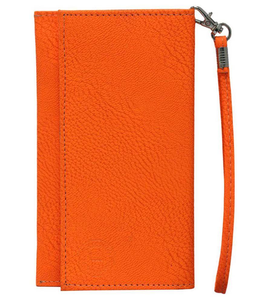 Jo Jo Wallet Case For Htc Desire 626g Plus - Orange