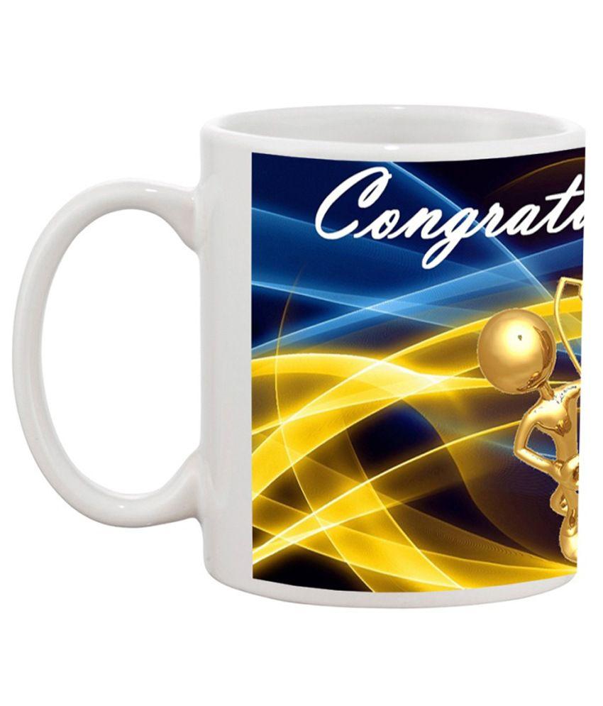 TIA Creation Congratulations D-4 Gift Coffee Mug