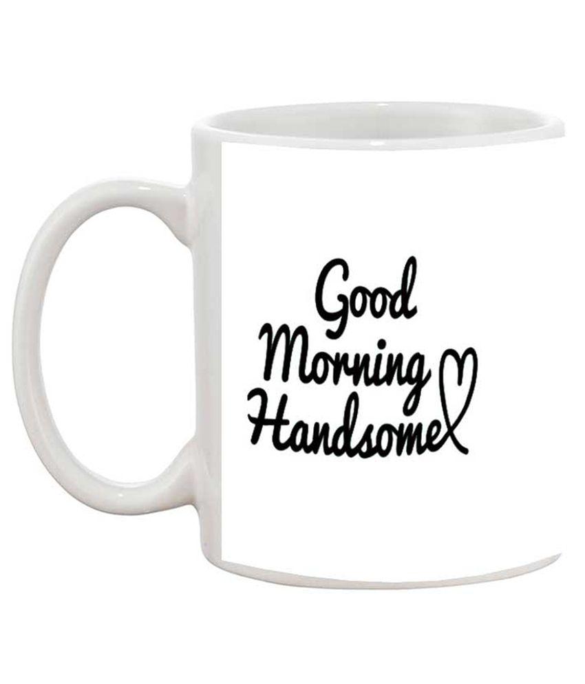 TIA Creation Good Morning Couple Mug Set 1005 Gift Coffee Mug