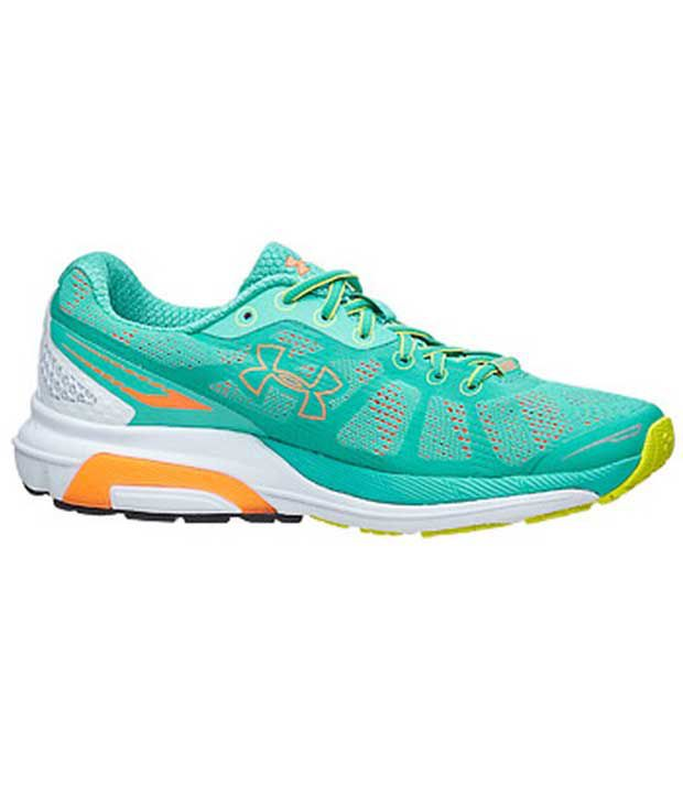 Under Armour Under Armour Green Charged Bandit Womens Shoes Normal Width (b)