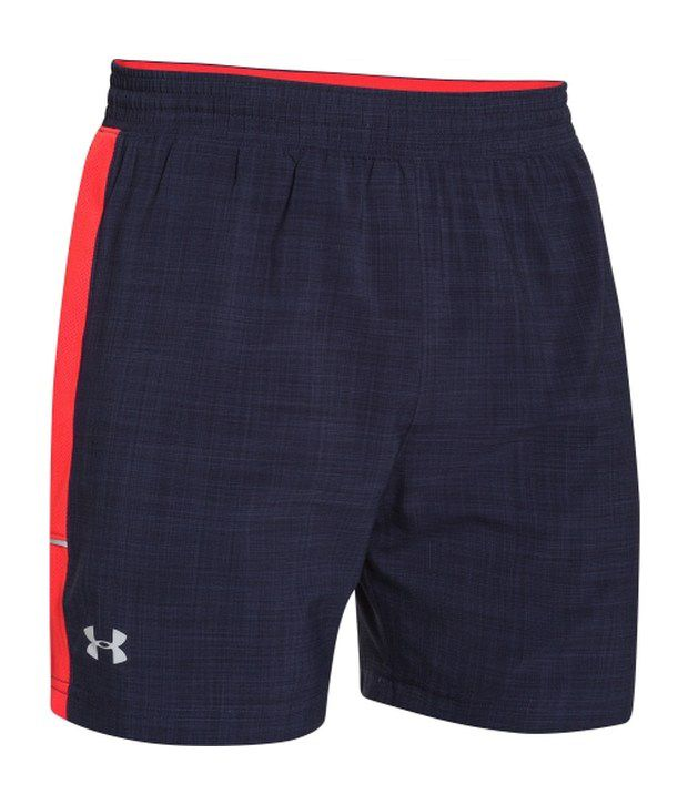 Under Armour Under Armour Navy And Green Mens Launch Reflect Running Shorts (pack Of 2)