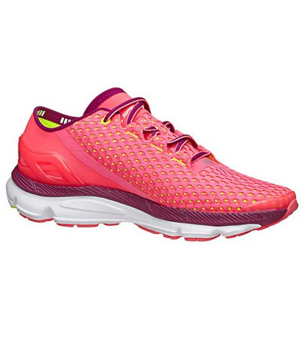 Under Armour Under Armour Red Speedform Gemini Womens Shoes Normal Width (b)