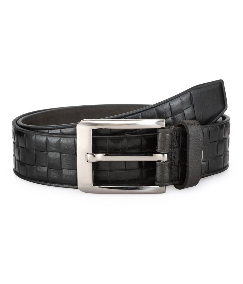 Teakwood Brown Leather Belt For Men