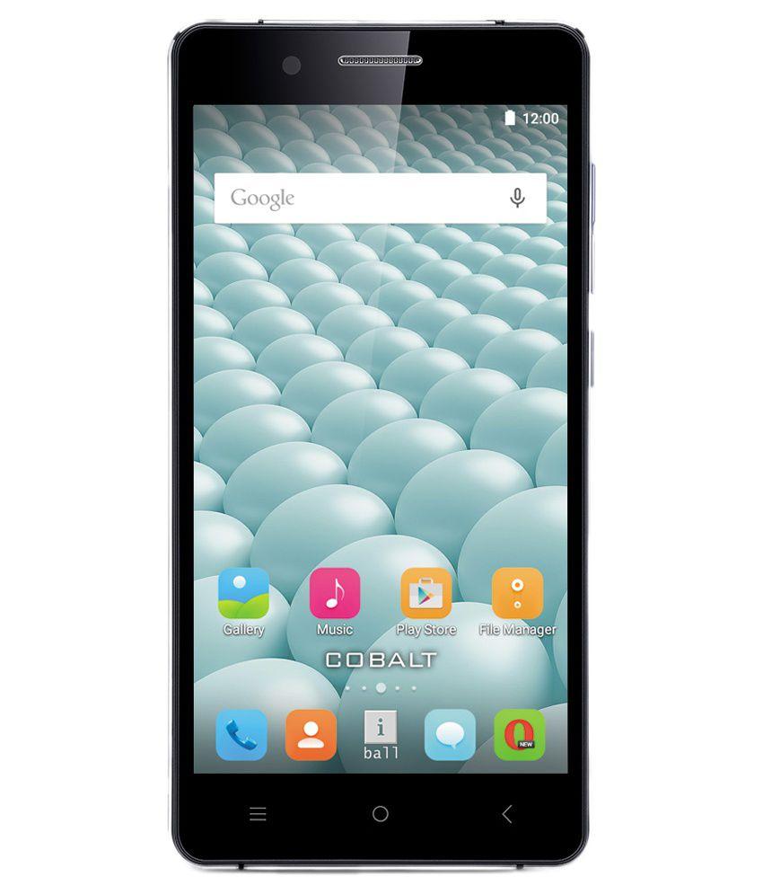 iBall COBALT SOLUS 4G 16GB Blue Special Black