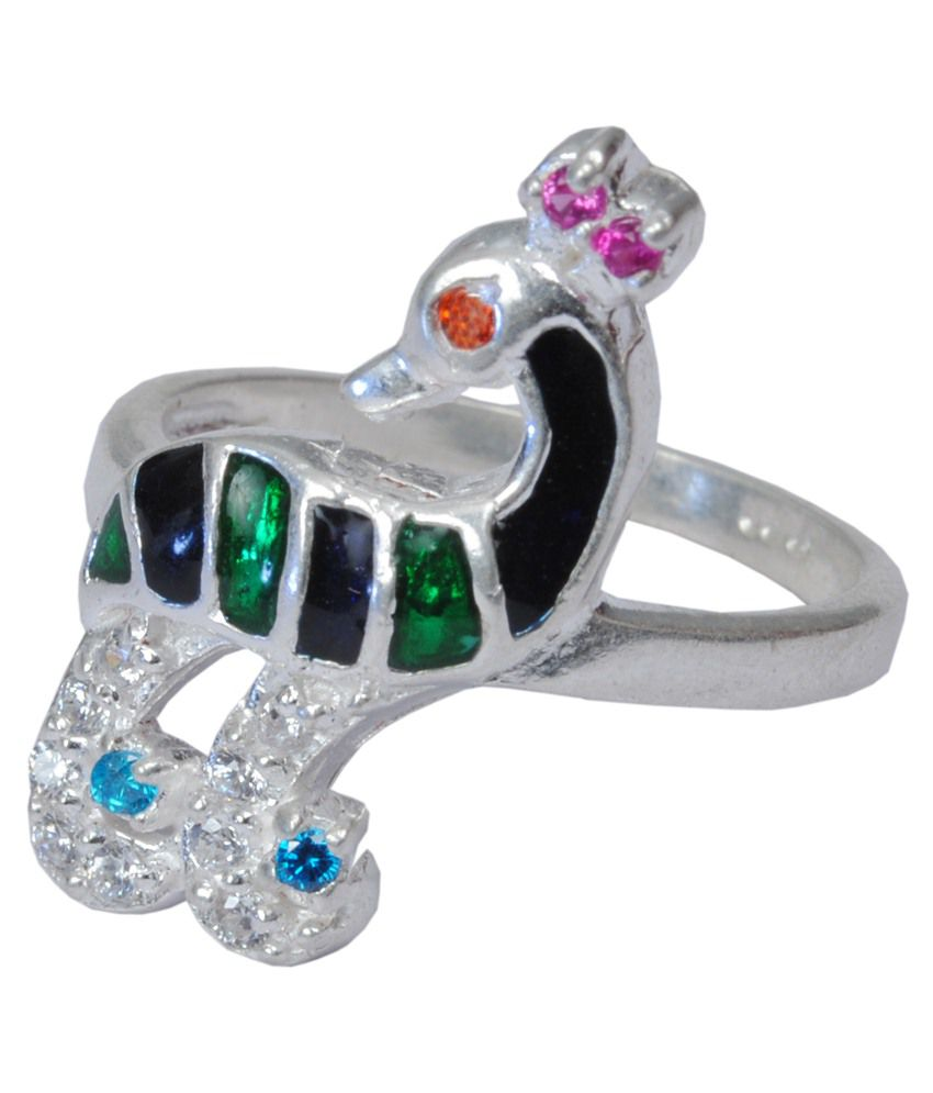 Dazzler 92.5 Sterling Silver Ring
