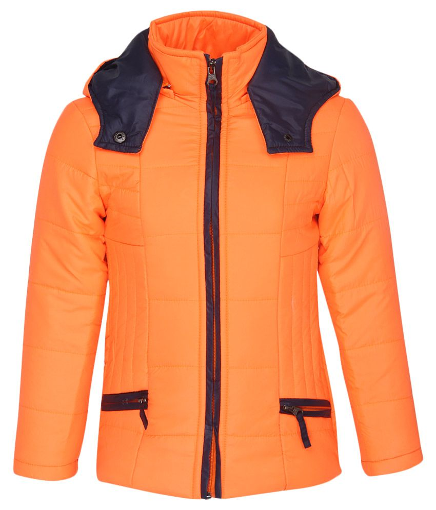 Fort Collins Orange With Hood Jacket