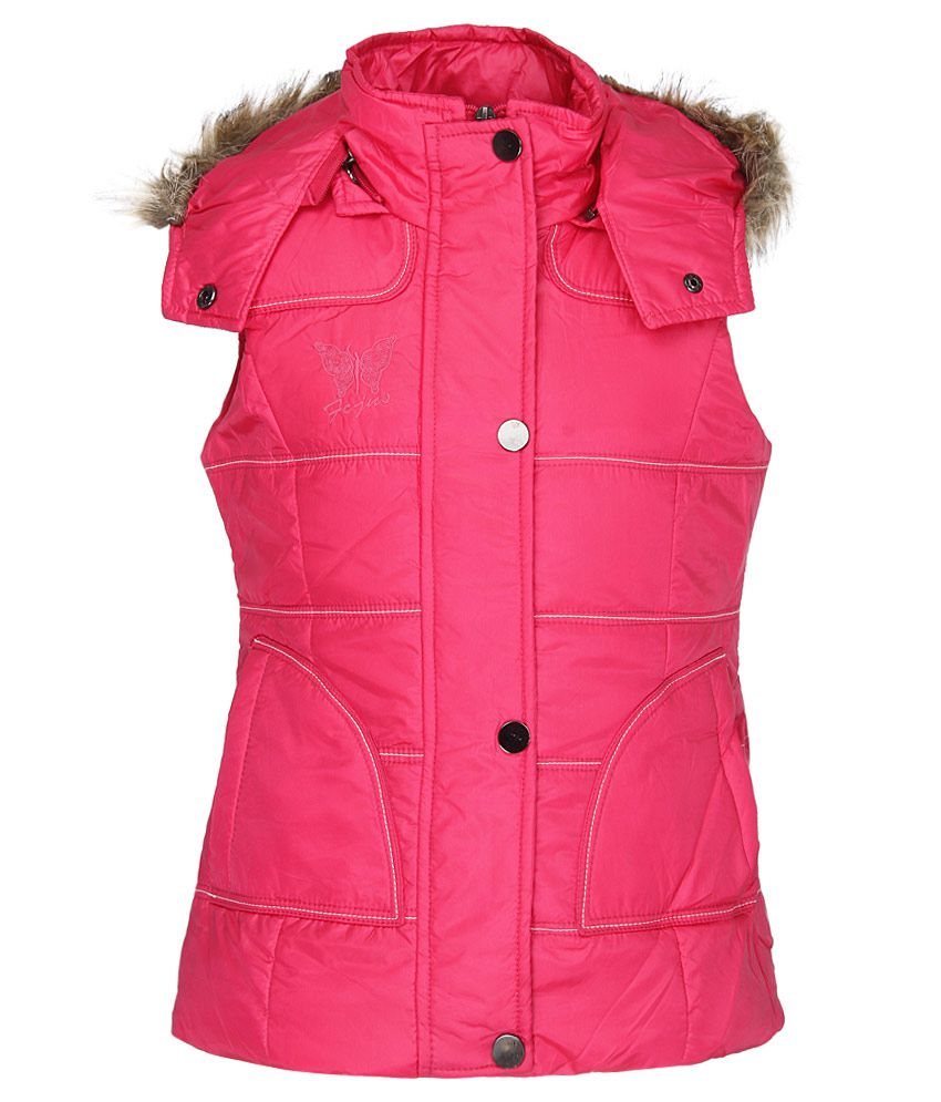 Fort Collins Pink With Hood Jacket