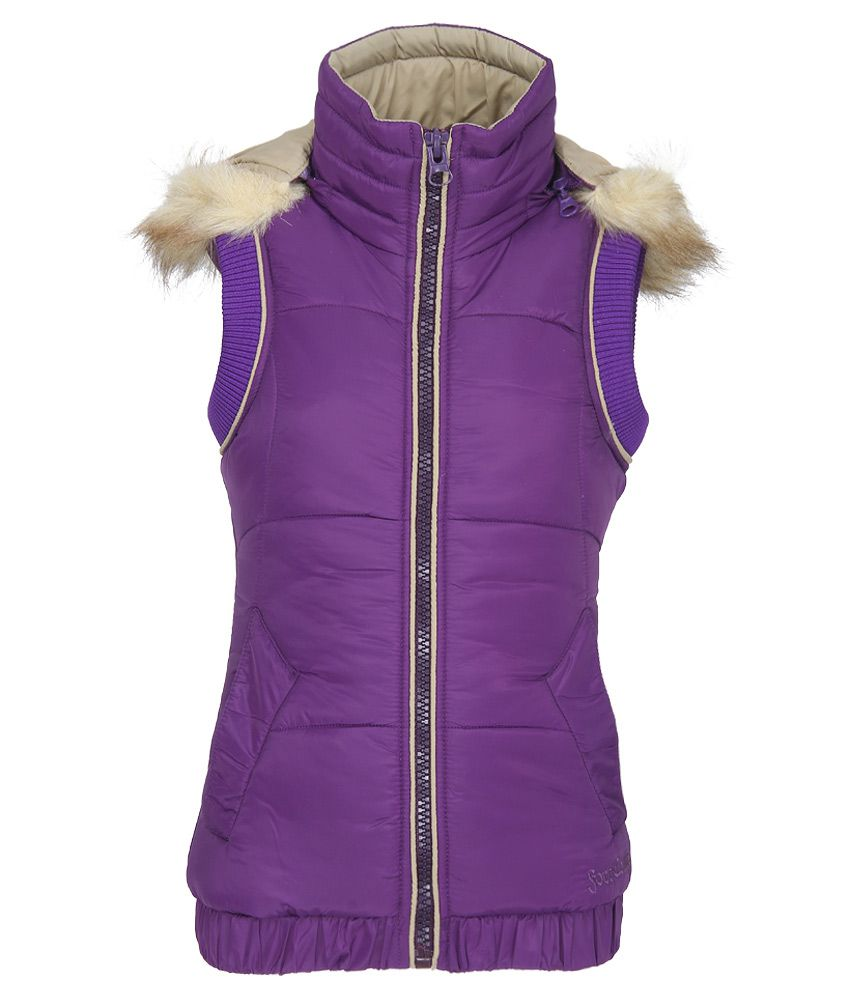 Fort Collins Purple With Hooded Jacket