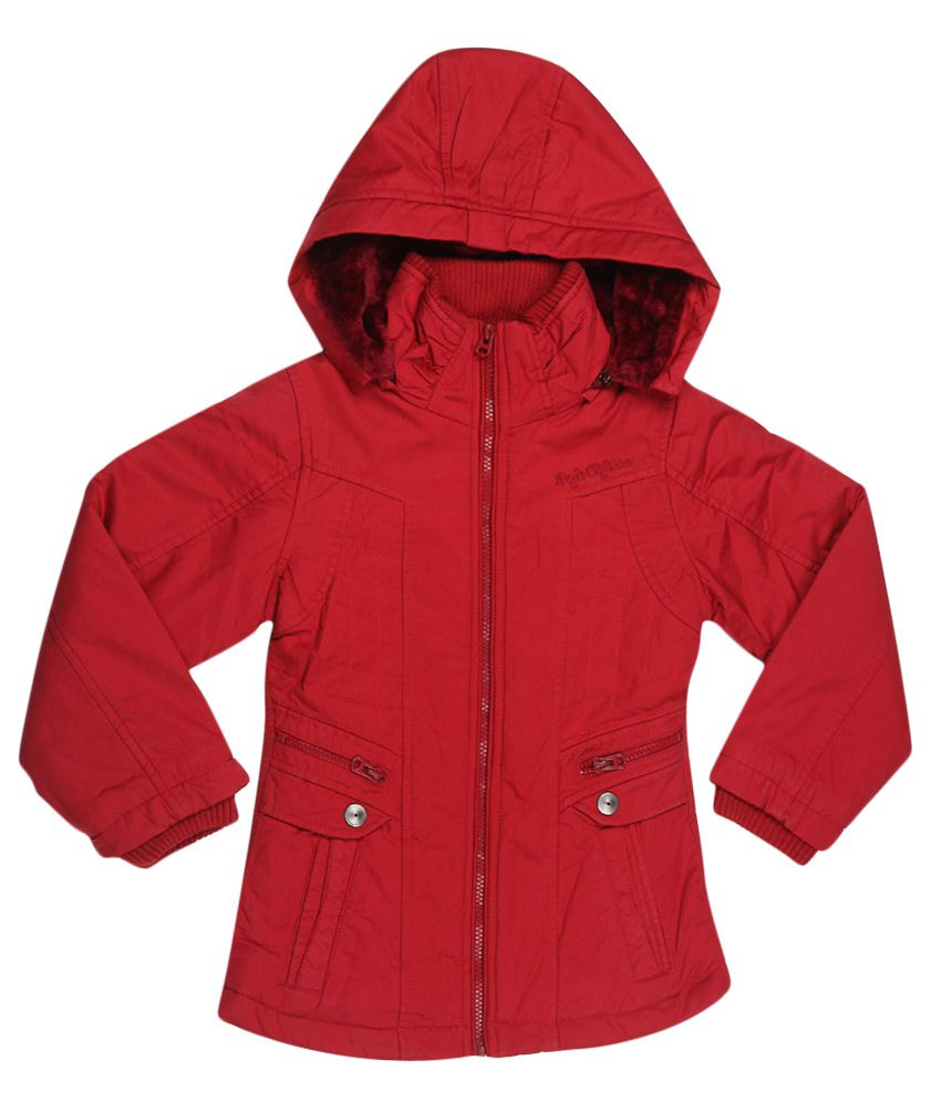 Fort Collins Red With Hood Jacket
