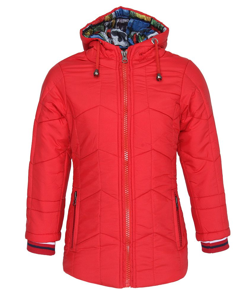 Fort Collins Red With Hooded Jacket