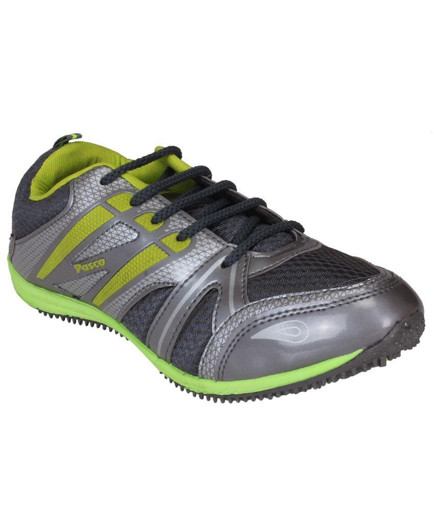 Tempo Gray Sports Shoes