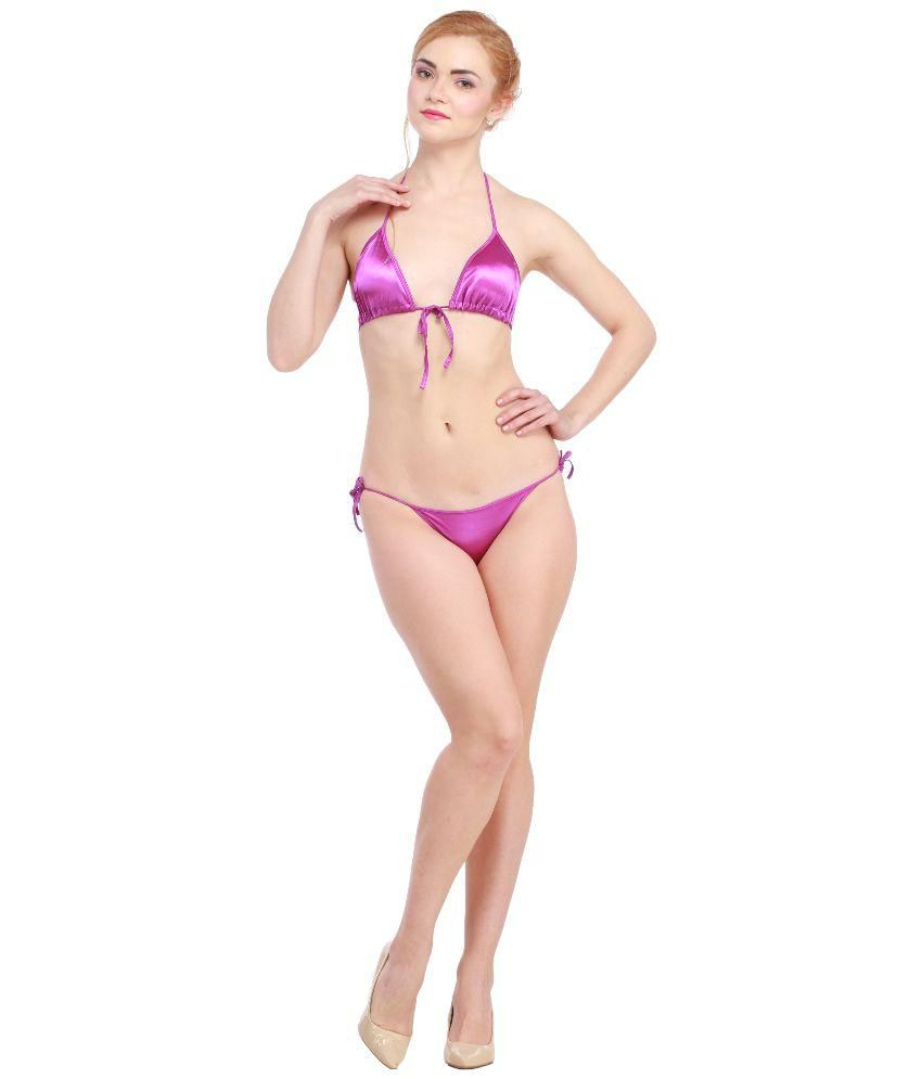 a3a4e68616c Buy Glus Satin Bra and Panty Set Online at Best Prices in India - Snapdeal