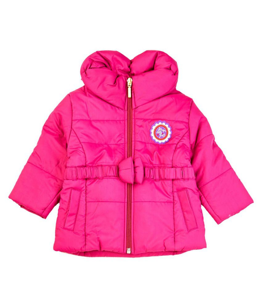 Mom&me Pink Padded Jacket