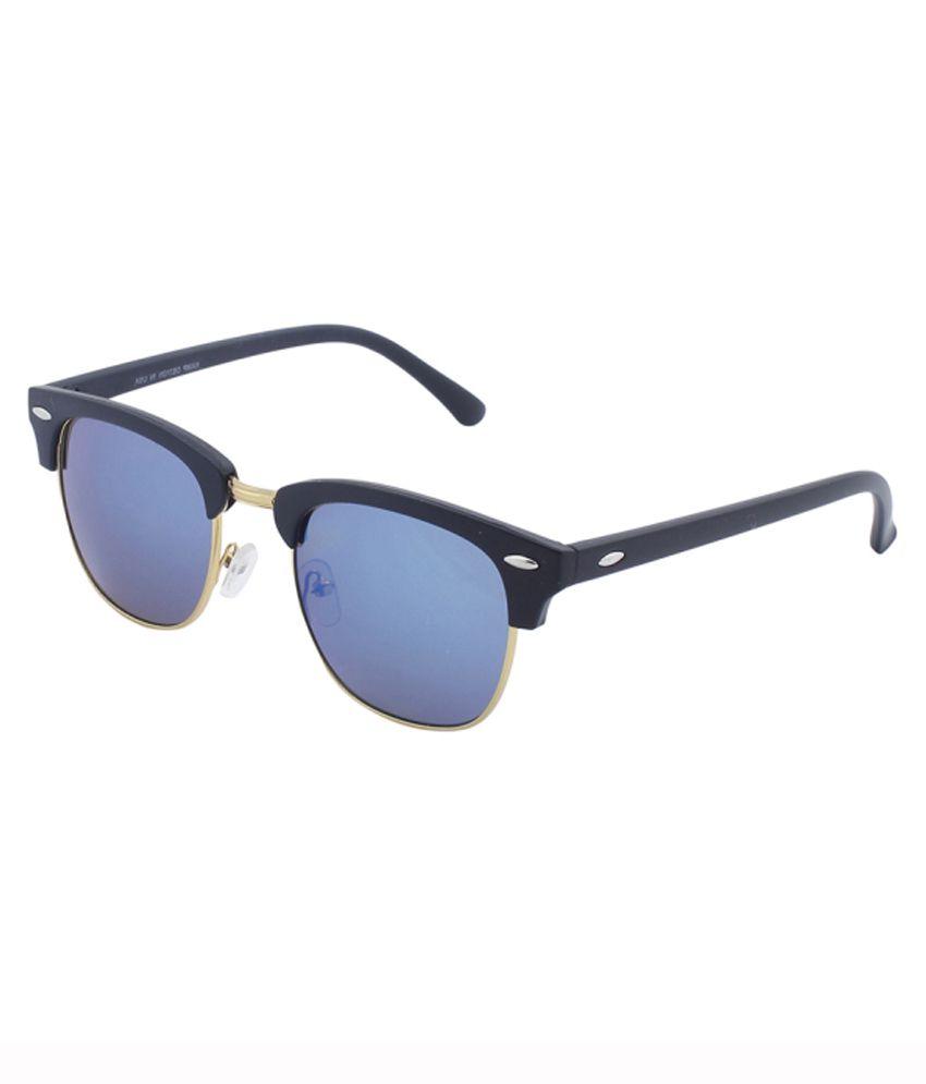 Stylisda Blue Medium Unisex Sport Sunglasses