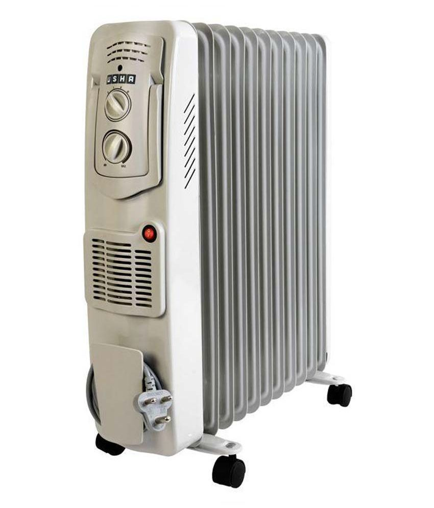 Usha 3511F 2300W Oil Filled Radiator Room Heater