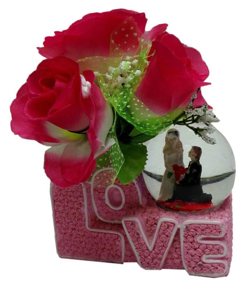 Azi beautiful love flower with light roaming in crystal ball multi azi beautiful love flower with light roaming in crystal ball multi color izmirmasajfo