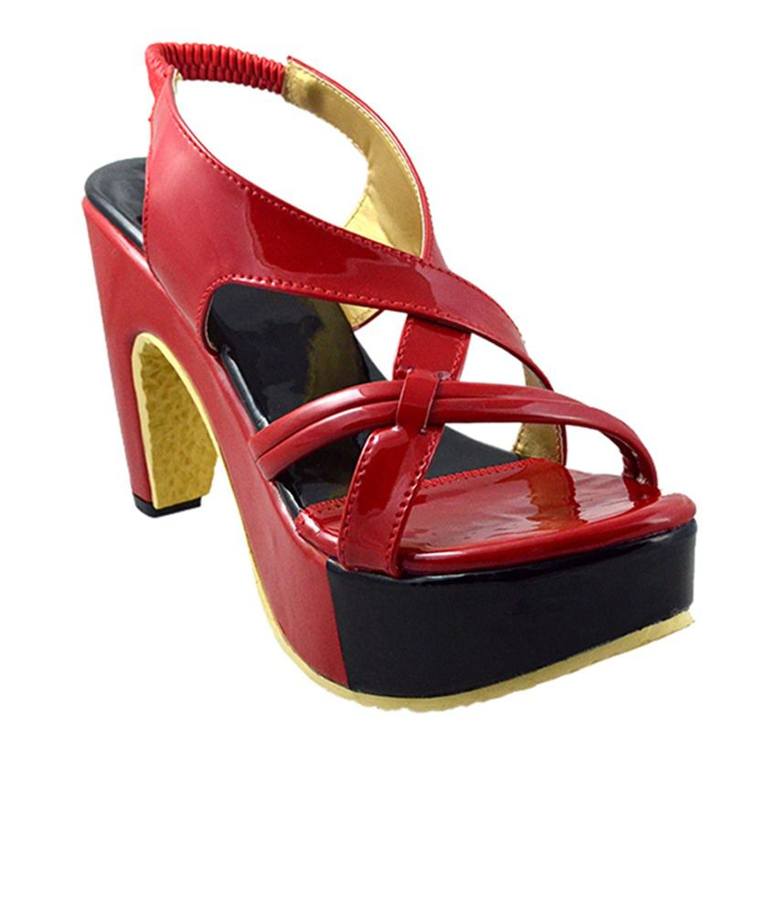 Canvera Red Heels