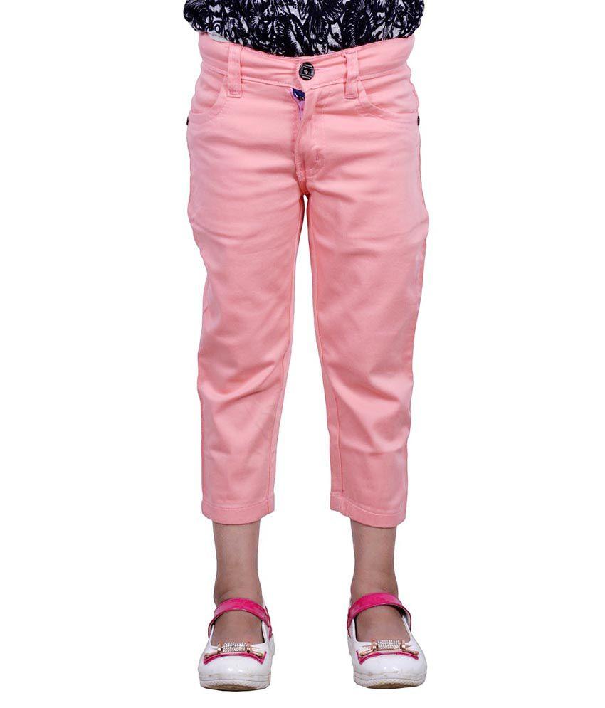 Patloon Pink Capri