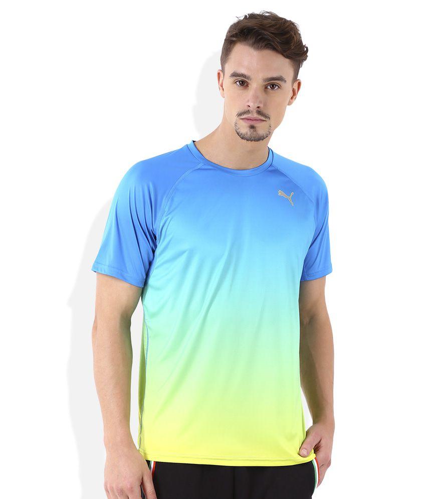 Puma Ignite Blue T-Shirt