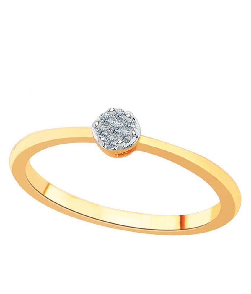 Shuddhi 18kt Gold Ring For Women