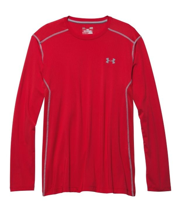 Under Armour Blue and Red Men's Raid Long Sleeve Shirt (Pack of 2)