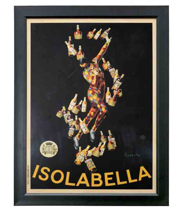 Elegant Arts And Frames Textured Isolabella Painting