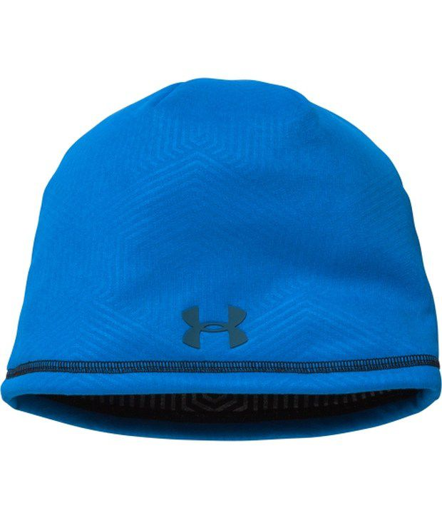 Under Armour Under Armour Men's Coldgear Infrared Elements Storm 2.0 Beanie Red/stealth Grey
