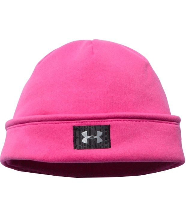 Under Armour Under Armour Women's Coldgear Infrared Fleece Beanie Rebel Pink