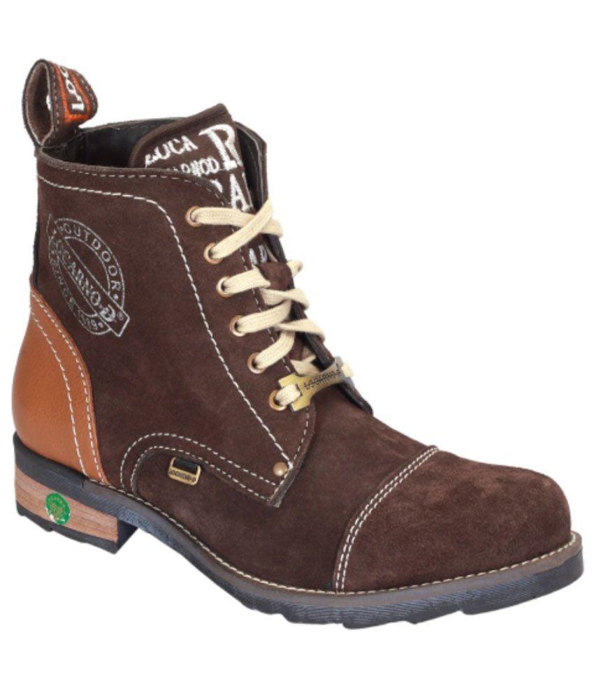 Locarno D Brown Boots