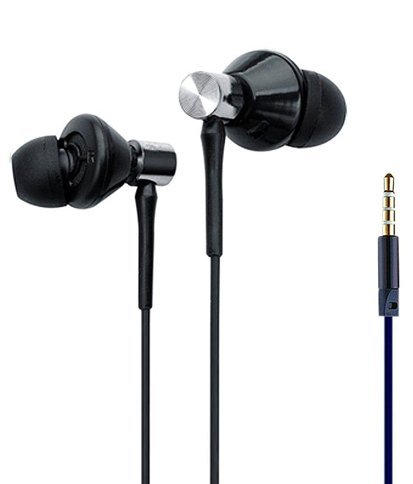 UBON In Ear Wired With Mic Headphones/Earphones