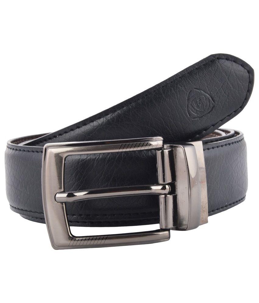 Garvan Brown Leather Formal Reversible Belt For Men