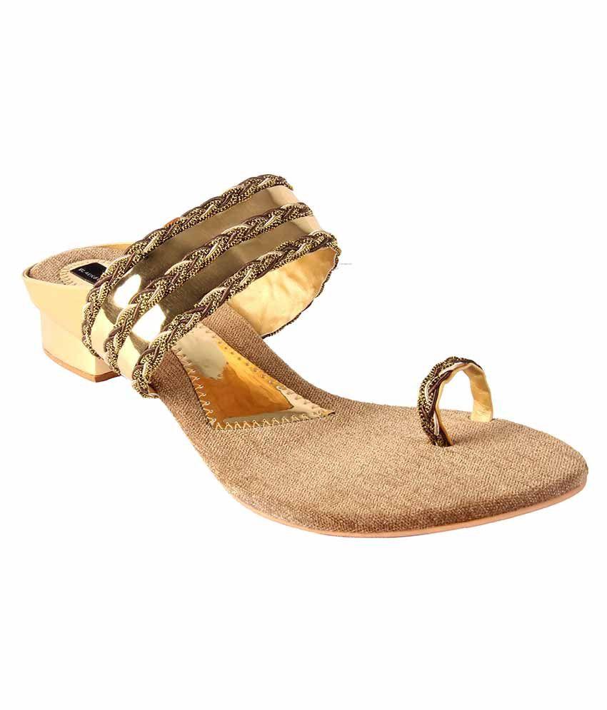 Jewel Golden Heels