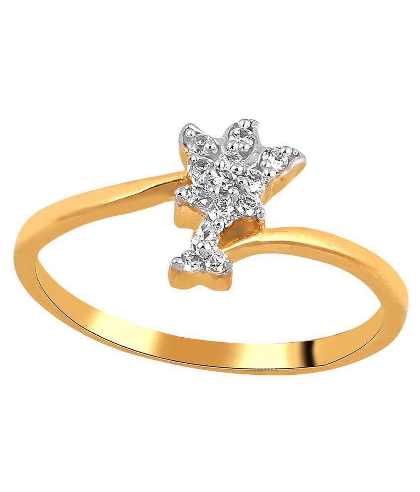 Shuddhi Hallmarked 14kt Yellow Gold Ring