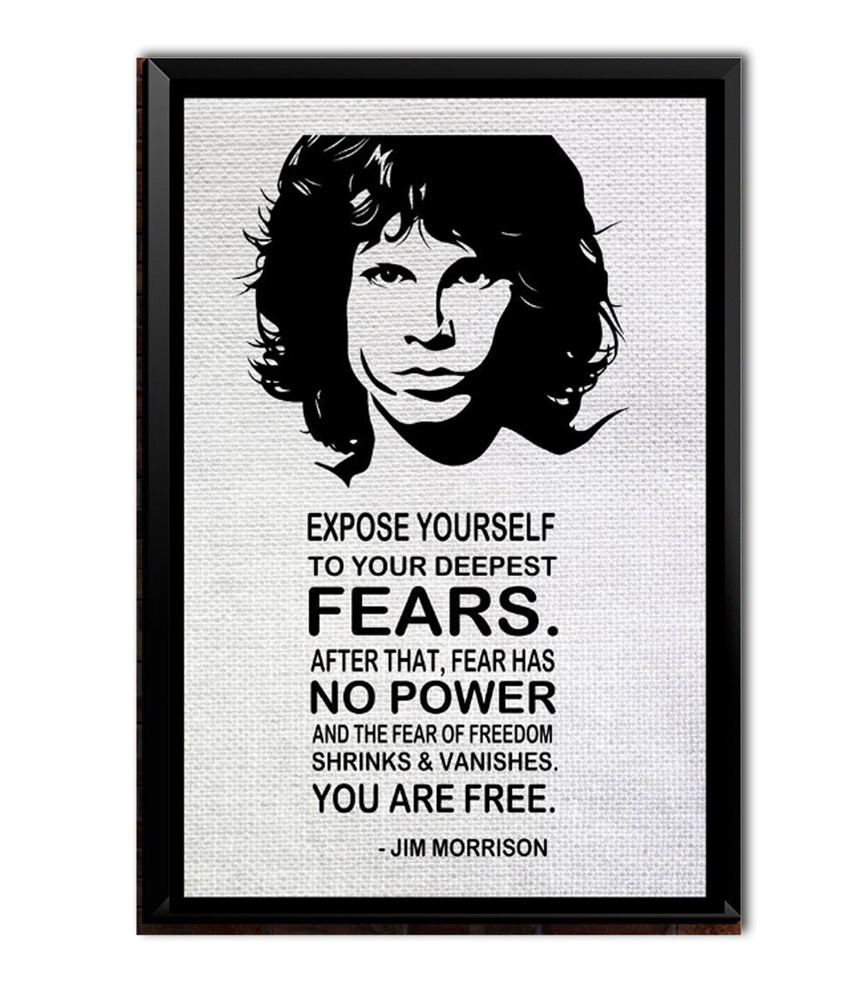 Speaking Walls Jim Morrison Quotes Poster 12 18 Inch Buy
