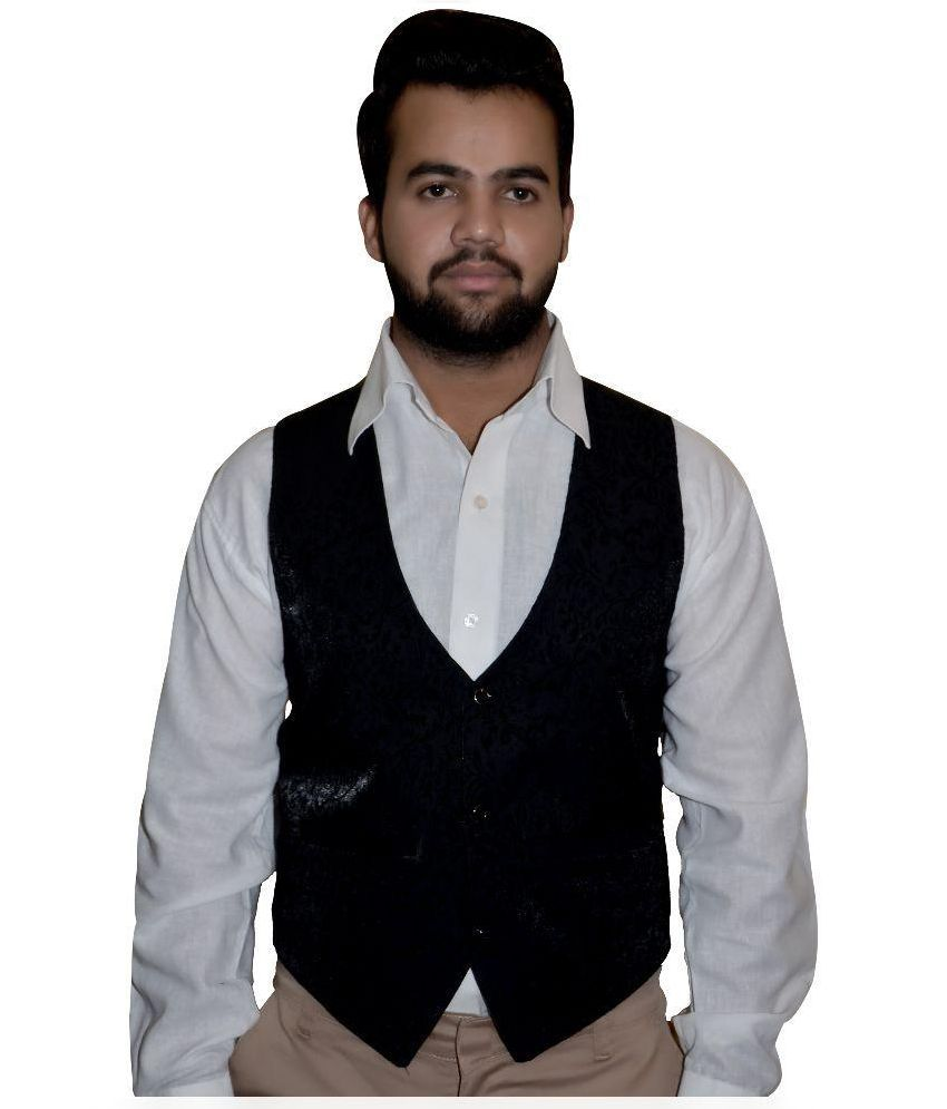 Attitude Works Black Waist Coat