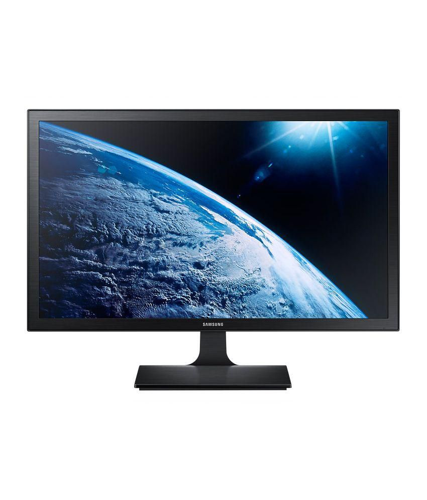 Samsung LS24E310HL/XL 23.6-inch Full HD LED Monitor with Flicker Free technology (Black)