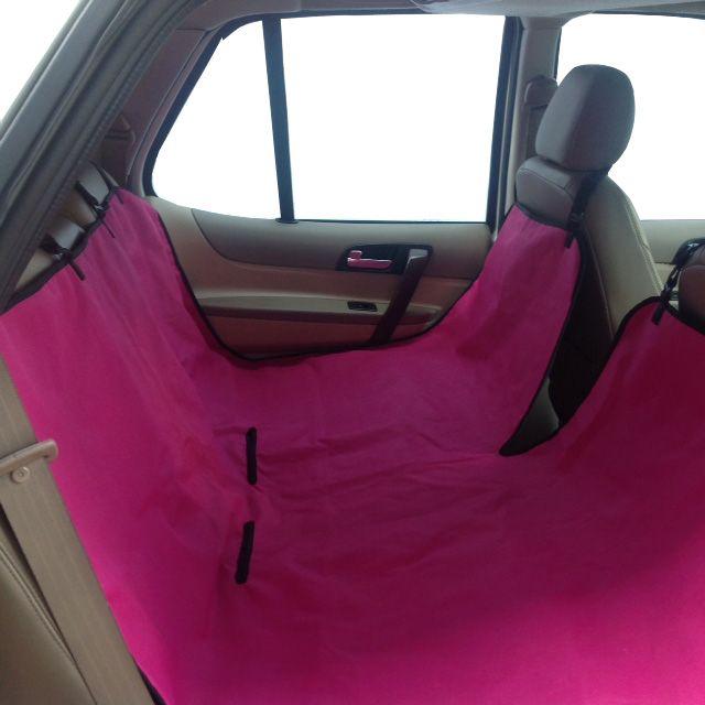 Snug Hug Pink Dog Car Seat Cover