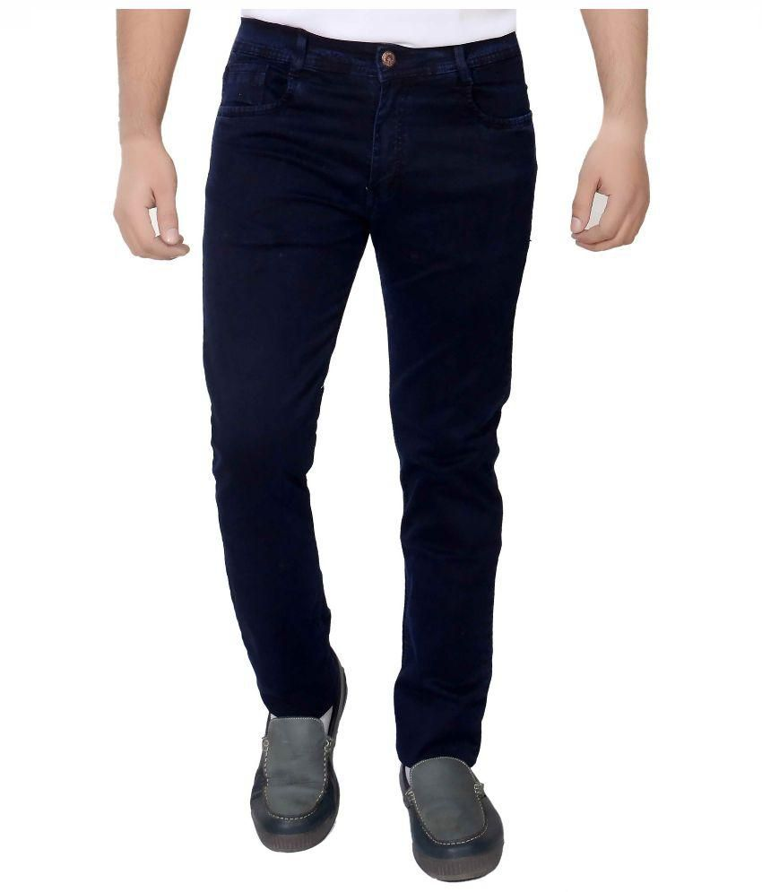 Fusion Blue Regular Fit Jeans