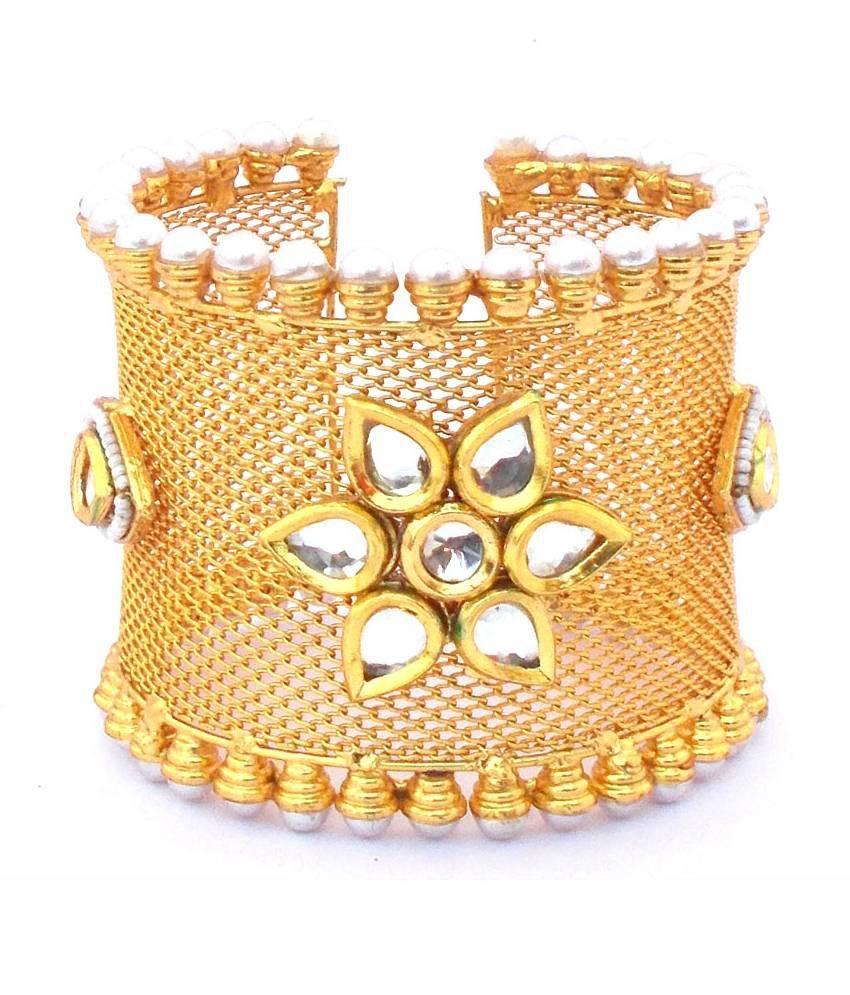 Kenisha Golden Alloy Cuff