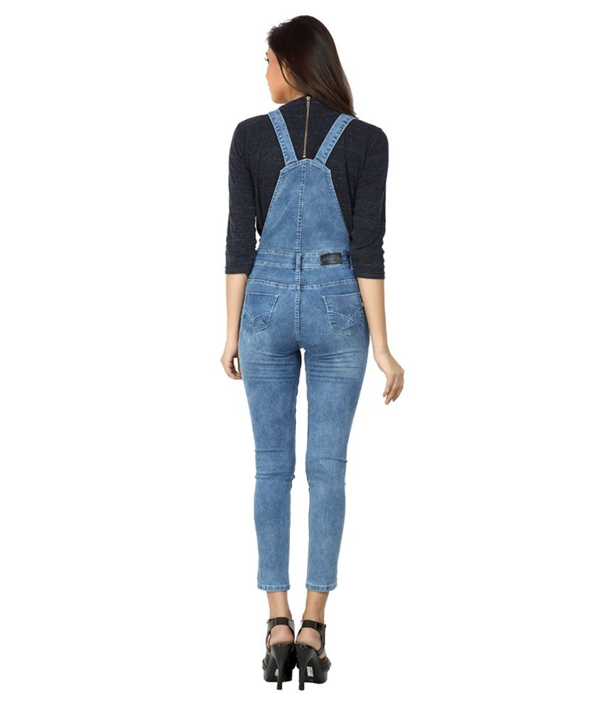 8c28ff44cb75 Fck-3 Blue Denim Jumpsuits - Buy Fck-3 Blue Denim Jumpsuits Online at Best  Prices in India on Snapdeal