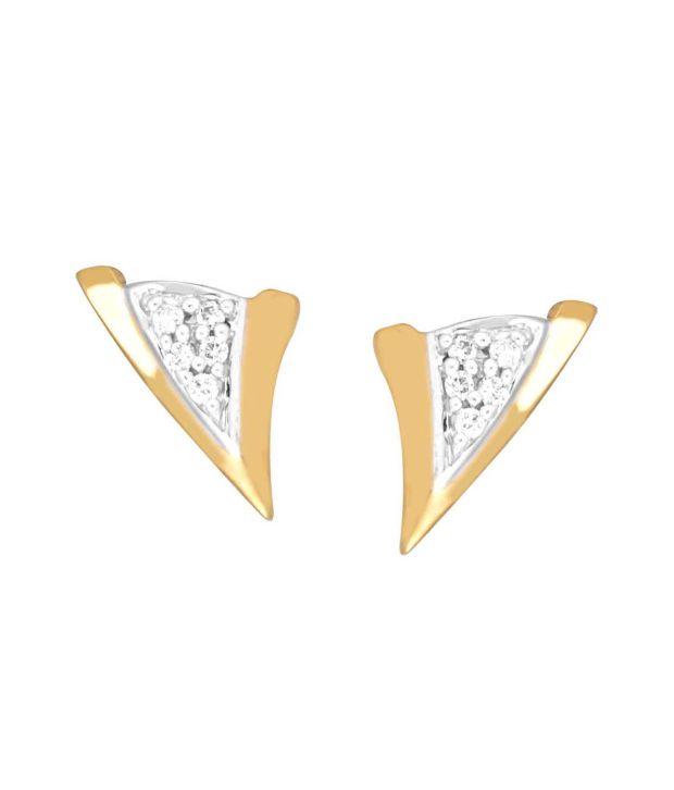 Shuddhi Gili 18kt Gold Diamond Studs