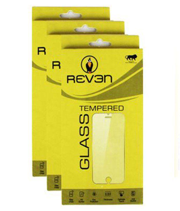 Motorola Moto G 3rd Gen Set Of 3 Tempered Glass Screen Guard by Reven