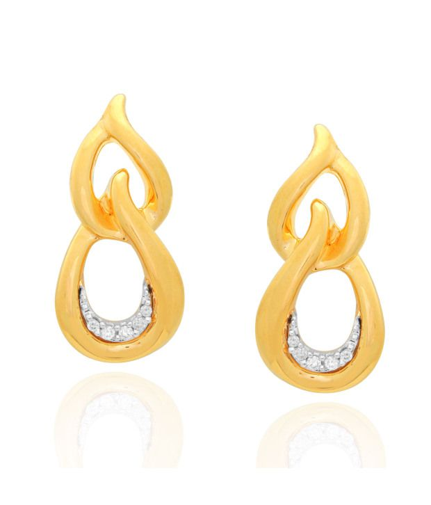 Shuddhi 14kt Gold Diamond Studs