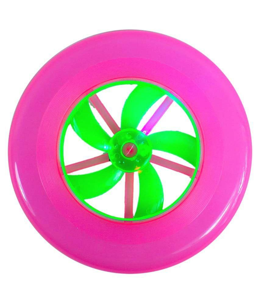 Neha Multicolour Plastic Flying Disc